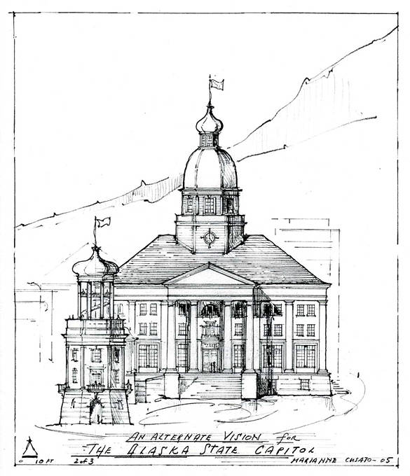 New towns alaska deserves a real capitol for Ak decoration building services